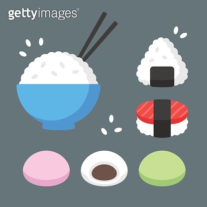 Japanese food rice dishes