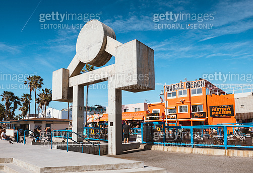 Muscle Beach Venice in Los Angeles
