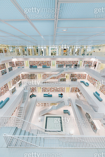 Modern Library Architecture Stadtbibliothek City Library