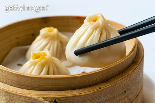 Traditional Shanghai dumpling, also called xiaolongbao