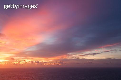 Karon Viewpoint seascape at sunset, Phuket, Thailand