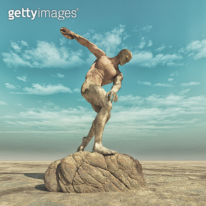 Statue of a man
