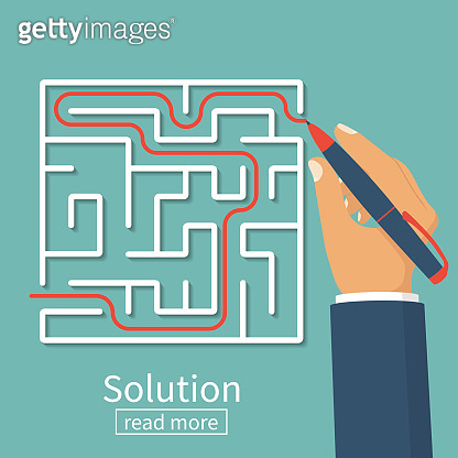 Solution of problem in case