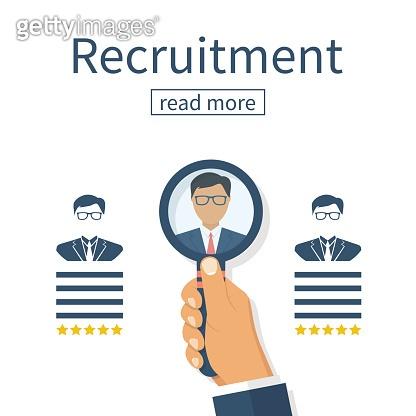 Recruitment concept. Human resources