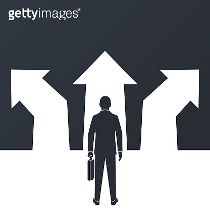 Choice way concept