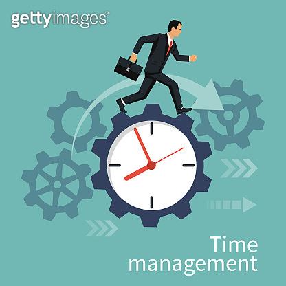 Time management, control