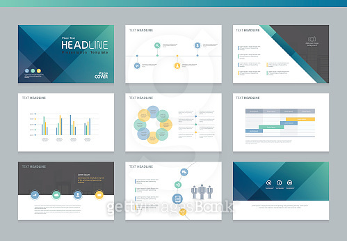 Page layout design template for presentation