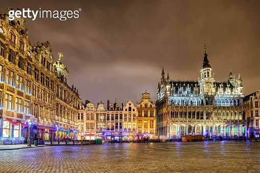 The Grand Place with Breadhouse, Brussels, Belgium