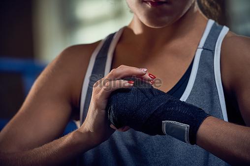 Last Preparations Before Kickboxing Training