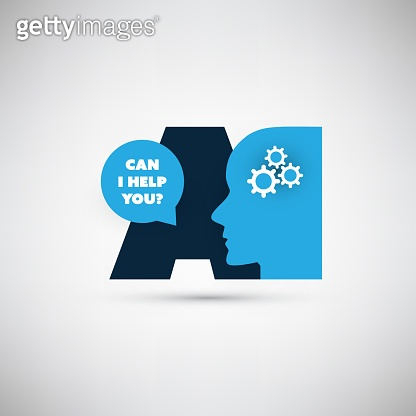 Can I Help You? - AI, Digital Voice Assistant Service, Internet of Things, Networks, Deep Learning, Future Technology Concept Design
