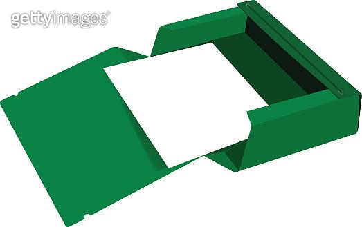 folder for green office wallets