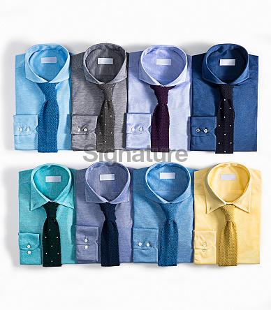Men's shirts  isolated on white background