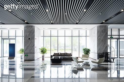 modern hall interior