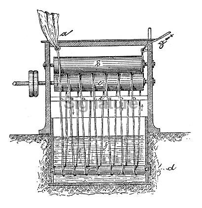 Paper industry machine