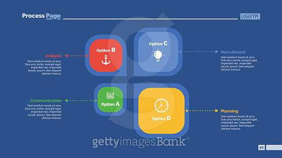 Four Elements Slide Template