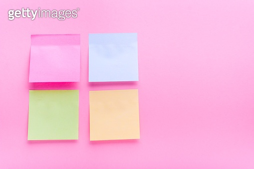 Adhesive note post color