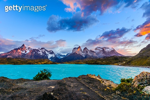 Torres del Paine,Patagonia, Chile - Southern Patagonian Ice Field, Magellanes Region of South America