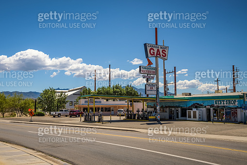 Canada Mart Gas & Gifts on historic Route 66 in Kingman, Arizona