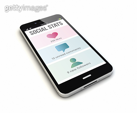 smartphone social stats