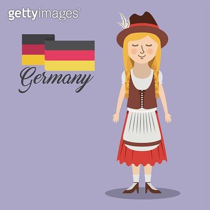 woman germany culture avatar