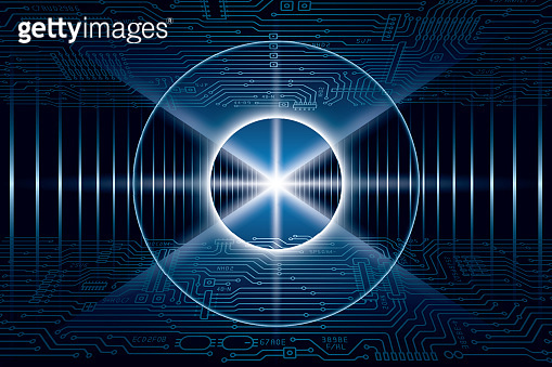 Image of artificial intelligence, technology