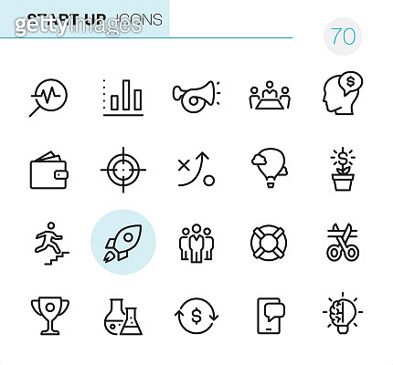 Start Up - Pixel Perfect icons