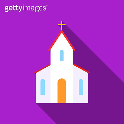 Church icon of vector illustration  and mobile