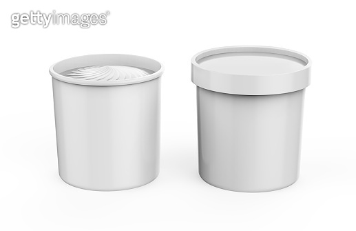 Ice Cream Cup Mock-Up