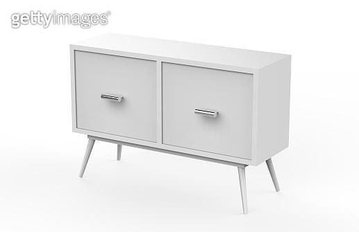 Cabinet Furniture Mock Up