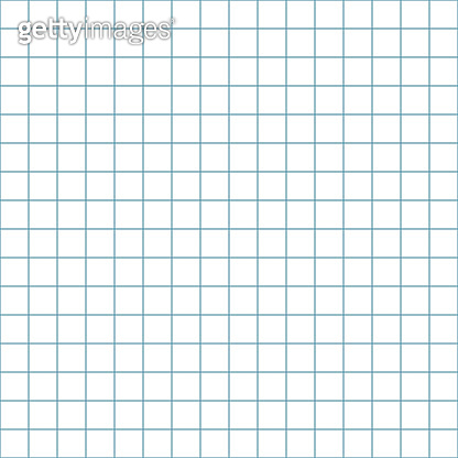 Graph Paper or Grid Paper Seamless Pattern