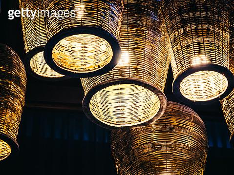 Ceiling light lamp decoration interior