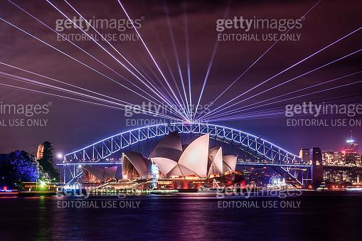 Vivid Sydney - Sydney Harbour