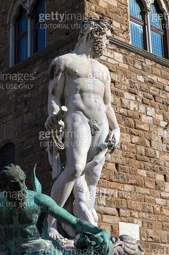 Replica of Michelangelo's David - Florence - Italy