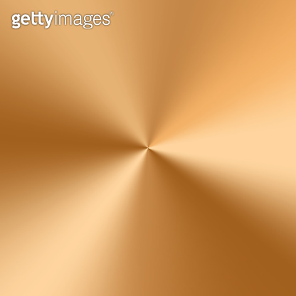 Golden cone gradient