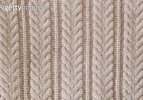 knitted beige background handmade style