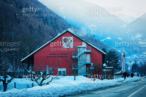 Saint Bernard museum in Martigny Switzerland