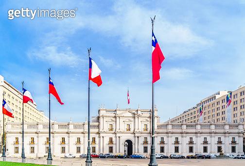 Palacio de la Moneda in Santiago de Chile