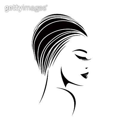 Style, beauty and hair salon logo