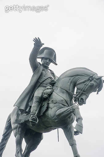 Napoleon on Horseback statue