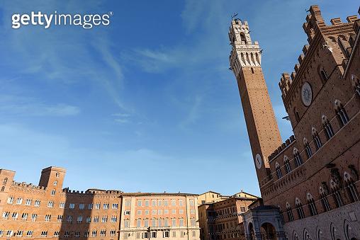 Siena - Piazza del Campo - Tuscany Italy