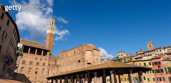 Siena Toscana Italy - Torre del Mangia