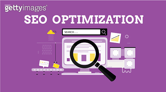 SEO optimization. Landing page