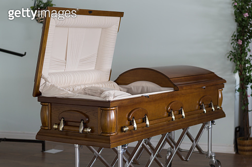 Open Casket Angled Funeral Home
