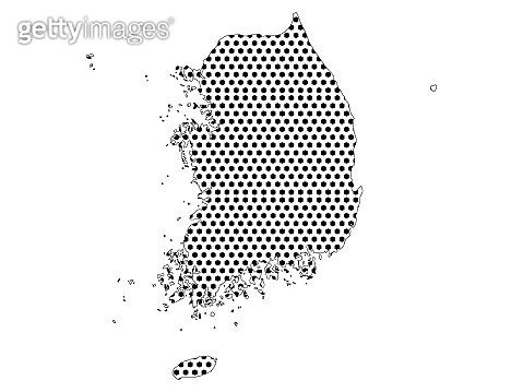 Pixel Map of South Korea