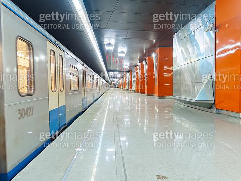 Borovskoye shosse station of Moscow metro