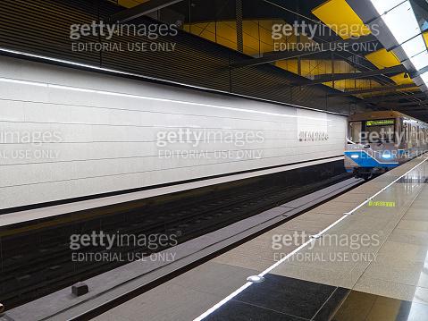 Shelepikha station of Moscow metro