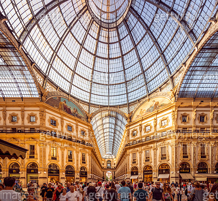 Galleria Vittorio Emanuele II in Mailand