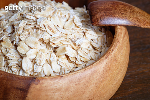 Uncooked whole oatmeal