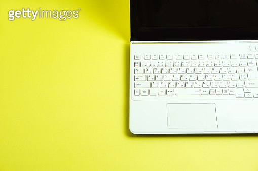 White note PC Keyboard of the Japanese sequence