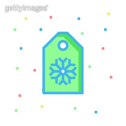 tag  snow  label